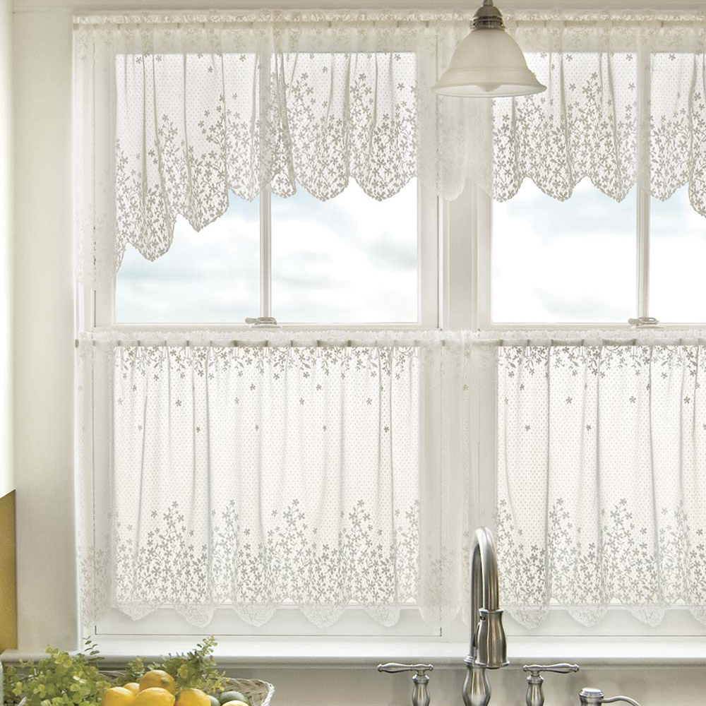 title | Lace Kitchen Window Curtains