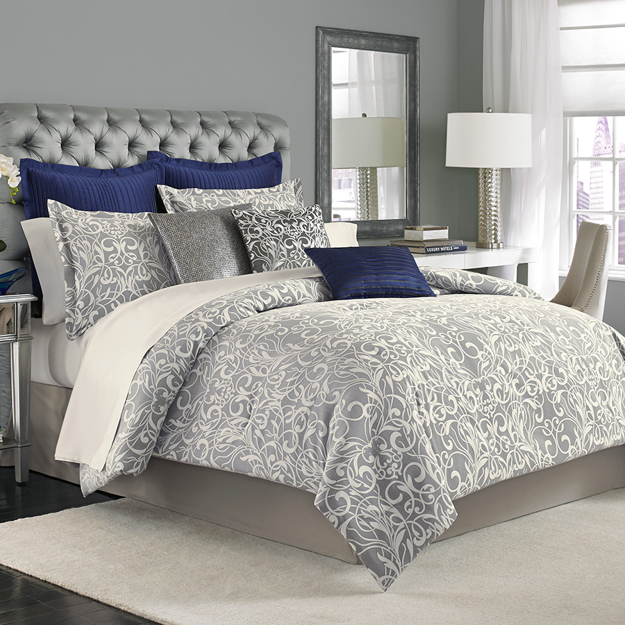 Cal King Complete Bedding Set (Manor Hill Casablanca)