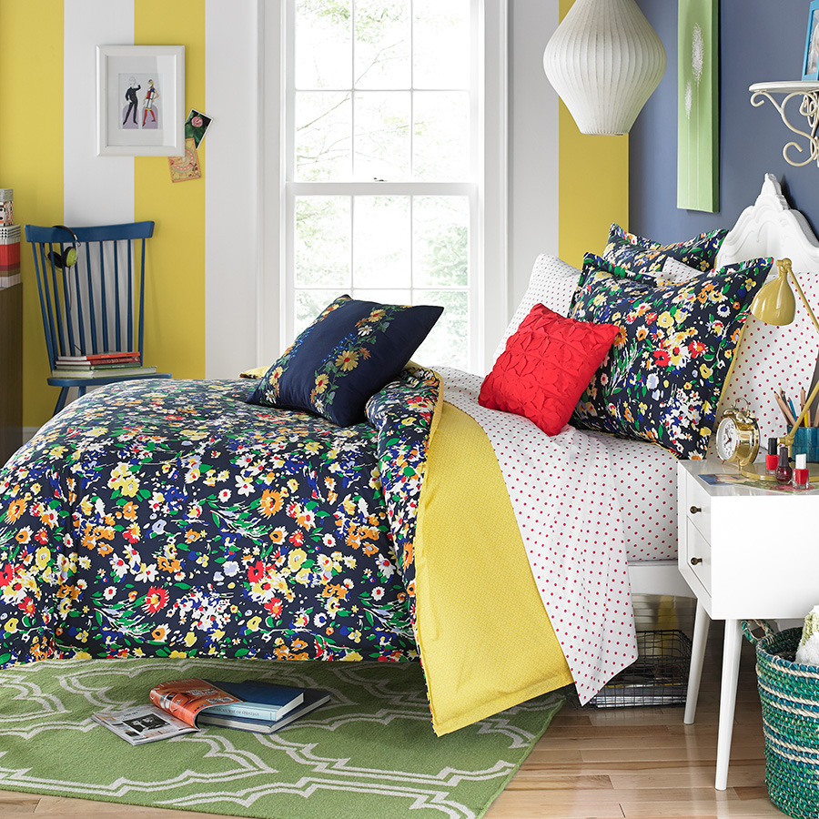 Teen Vogue Folksy Floral Bedding Collection from ... on Teenager:_L_Breseofm= Bedroom Ideas  id=71199