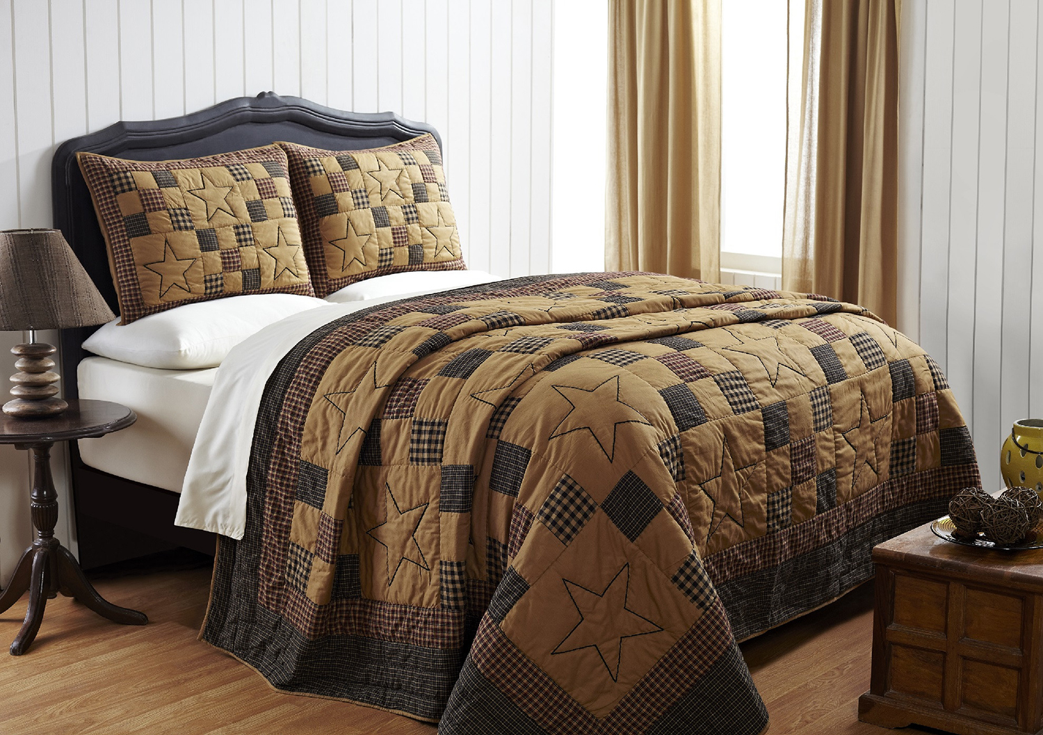 Braden Embroidered Star By Olivias Heartland Quilts