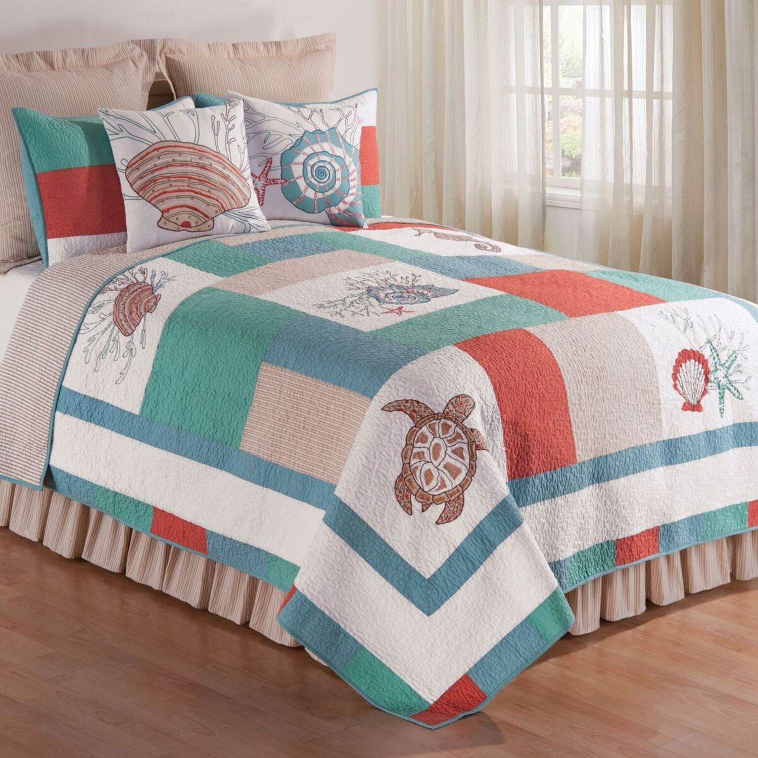 Folly Beach By C Amp F Quilts Beddingsuperstore Com