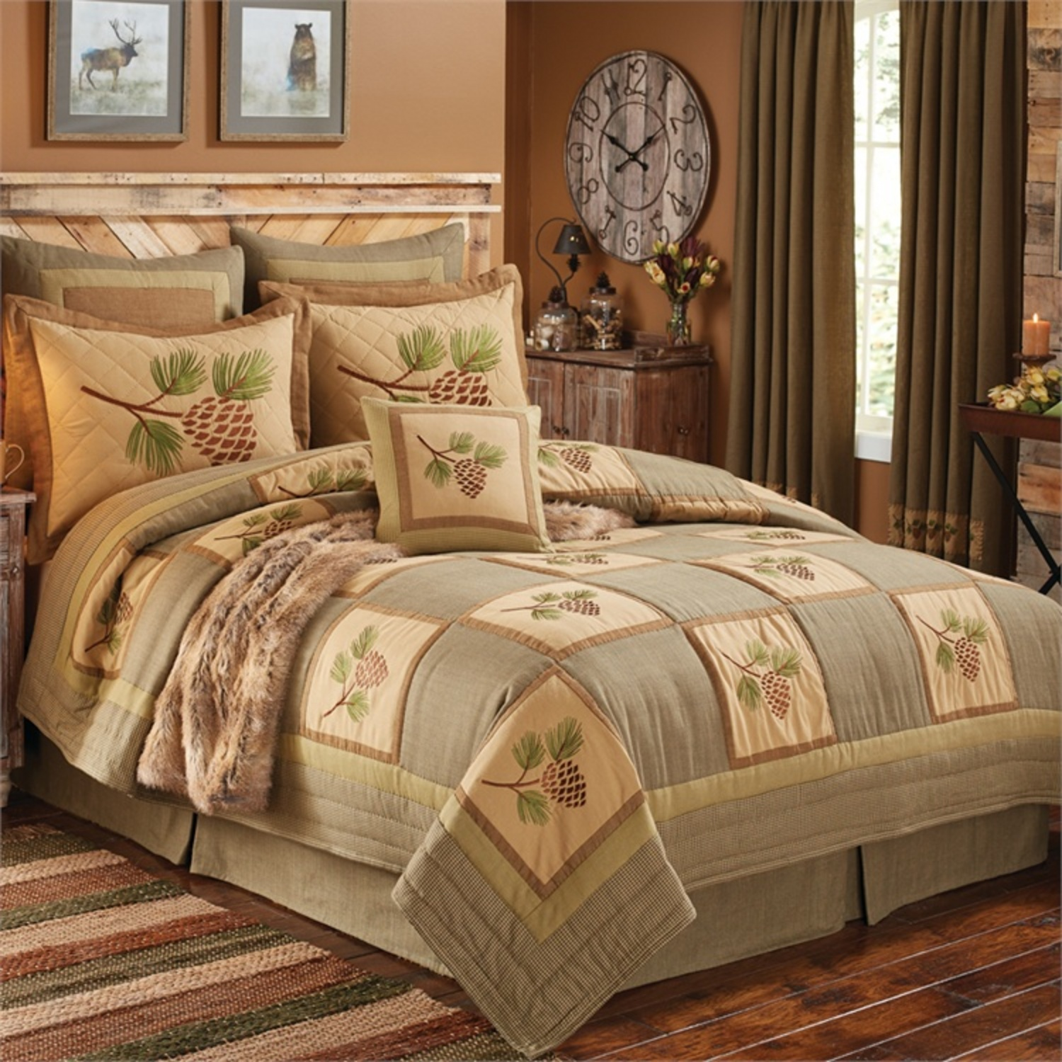 Pineview Park Designs Lodge Bedding