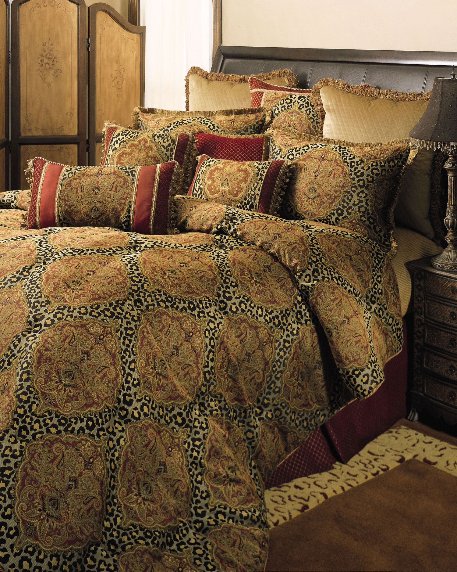 King Size Luxury Bedding Brown