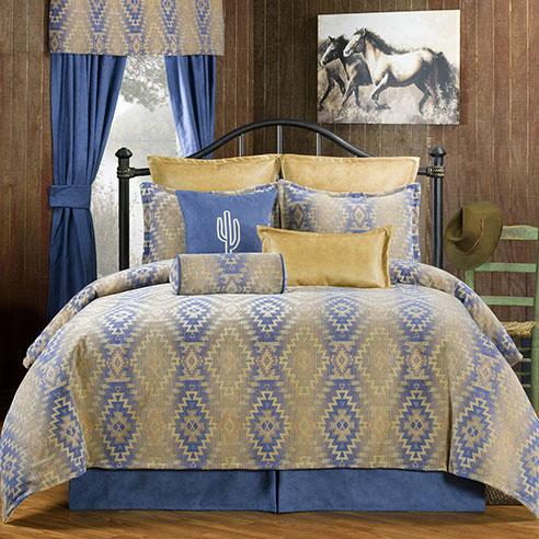 Pueblo Blue By Victor Mill