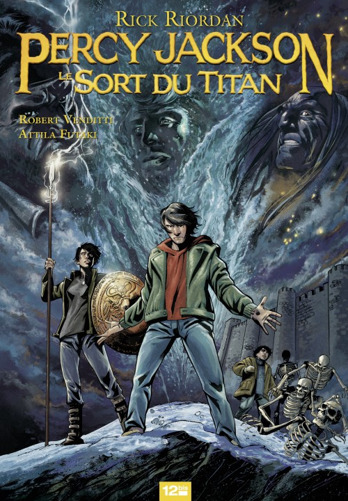 Rick Riordan Graphic Novel