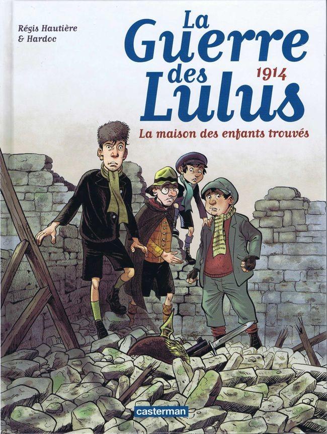 Lucas, Lucien, Luigi et Ludwig sont quatre des pensionnaires de l'orphelinat de l'abbaye de Valencourt en Picardie. Tout le monde les surnomme les Lulus. En cet été 1914, la guerre débute. Lorsque la troupe évacue l'abbaye manu militari,les Lulus, qui ont une fois de plus fait le mur, manquent à l'appel. Sans l'avoir voulu, ils se retrouvent soudain à l'arrière des lignes allemandes.