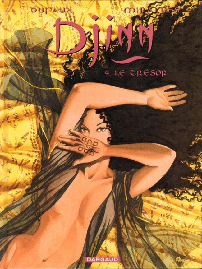 Couverture de Djinn -4- Le Trésor