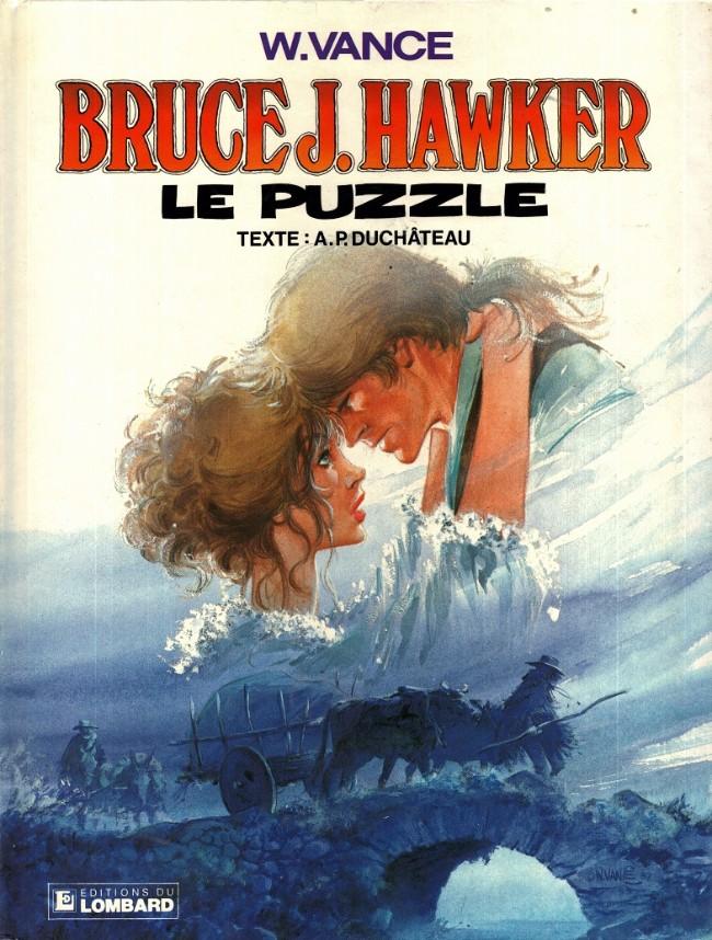 Couverture de Bruce J. Hawker -4- Le puzzle