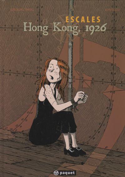 Couverture de Escales -2- Hong Kong, 1926