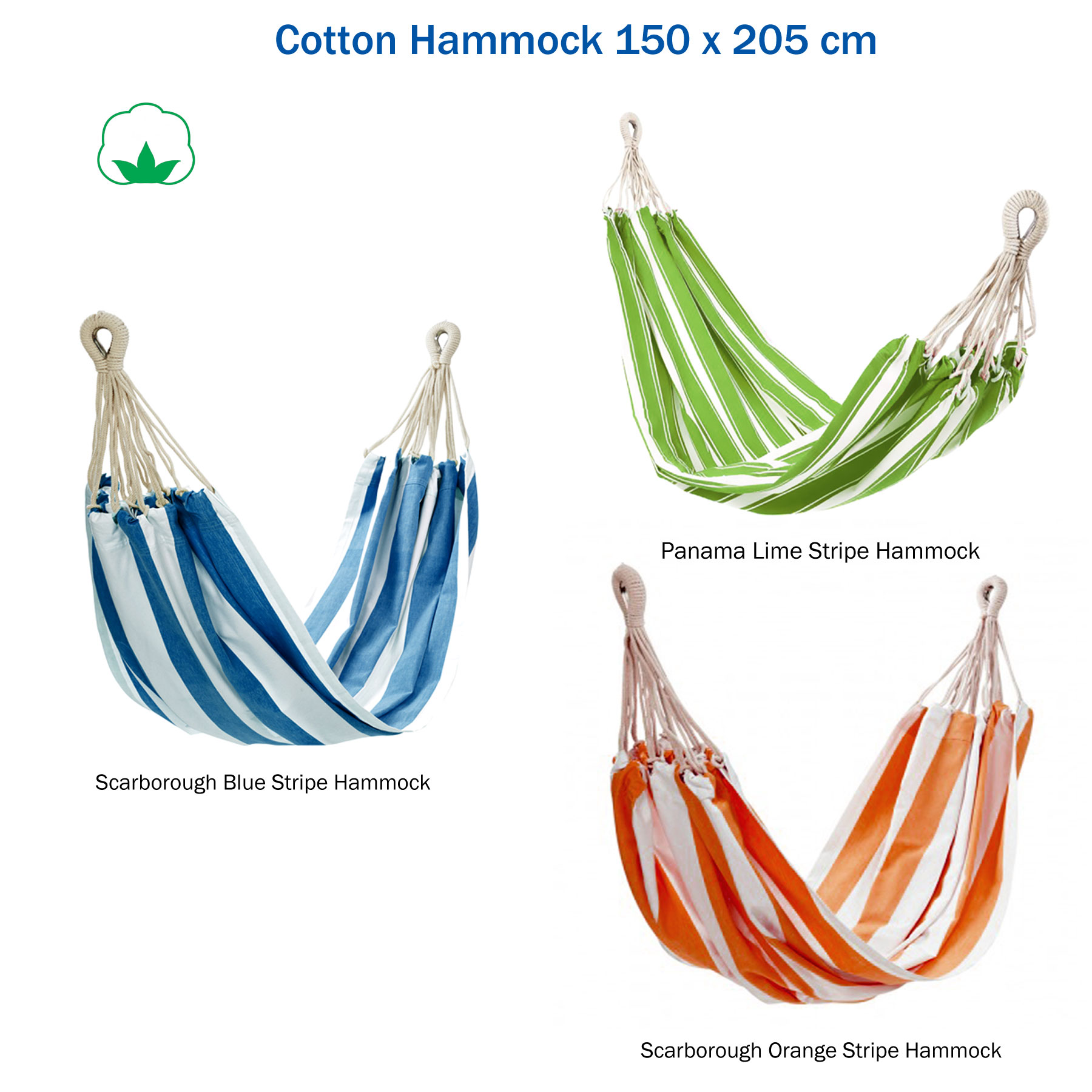 100 Cotton Fabric Hammock Air Chair Hanging Outdoor