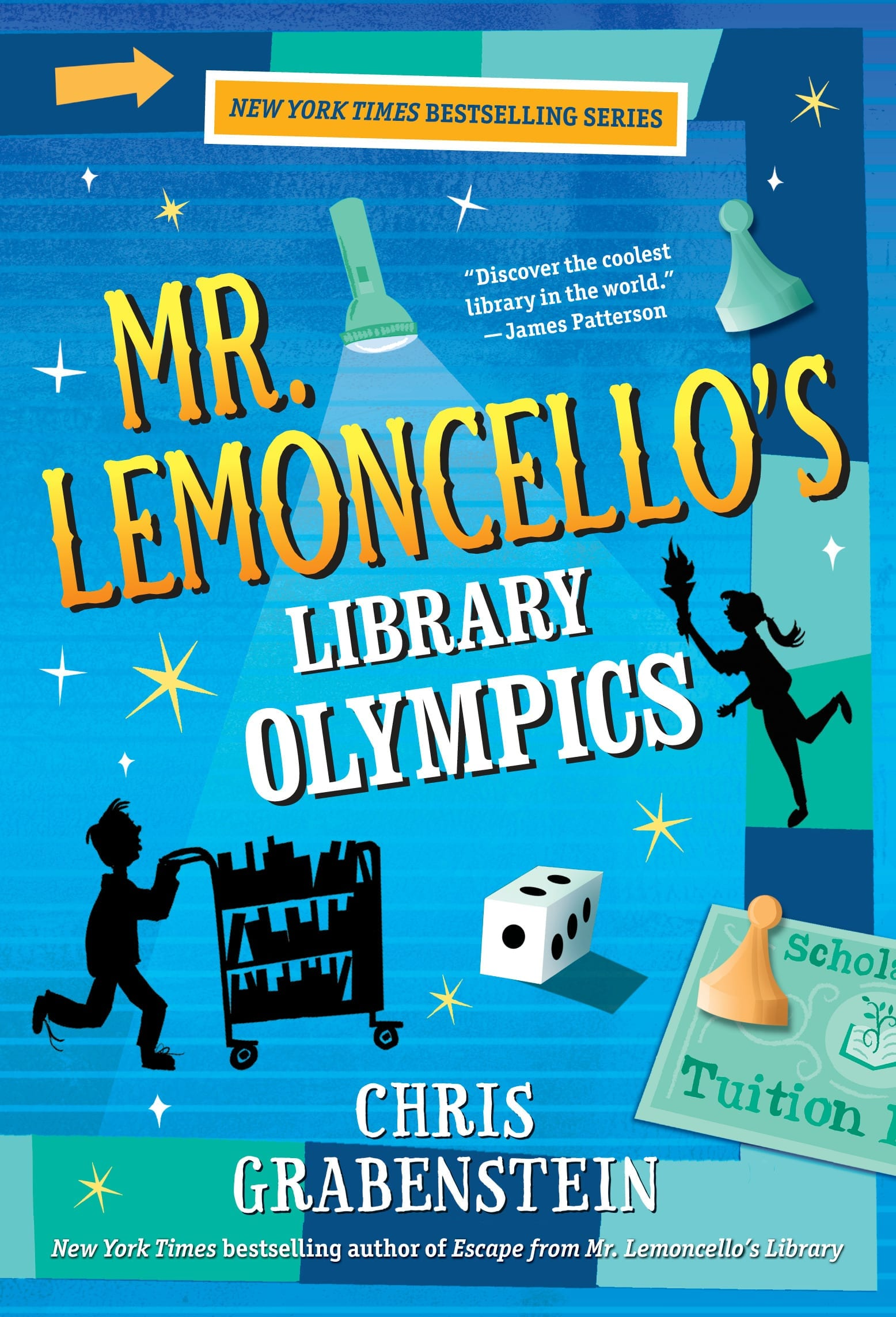 Mr Lemoncello S Library Olympics Bedford Falls Book Fairs
