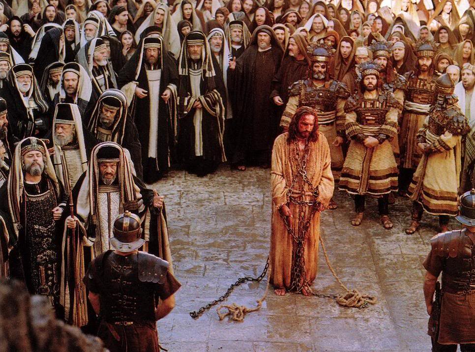 Image result for Christ on trial