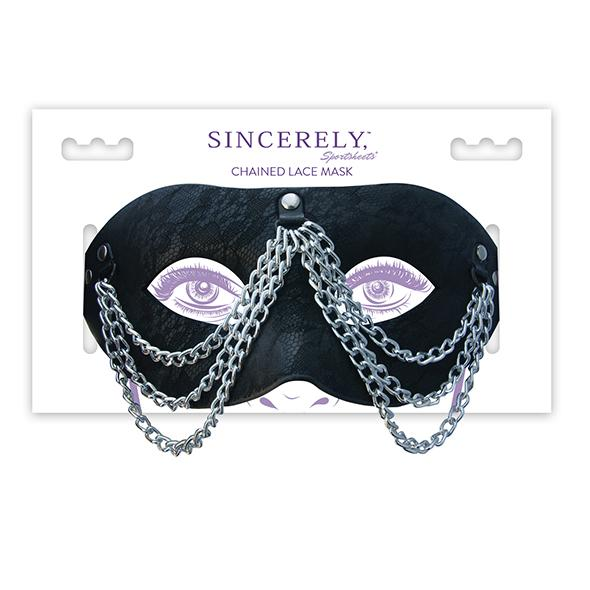 Sportsheets – Sincerely Chained Lace Mask
