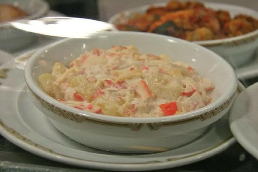 ensaladilla de cangrejo