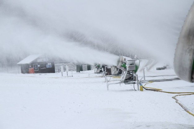 Sneeuwmaken Winterberg Ruhrquelle Lift