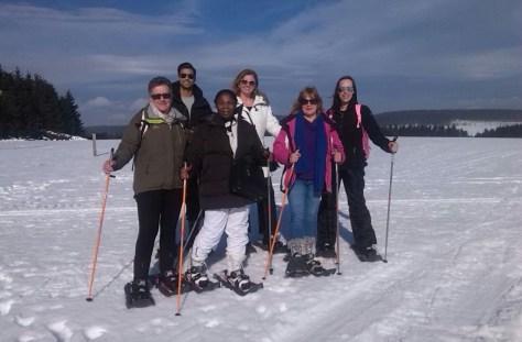 Sneeuwschoenwandelen in Winterberg