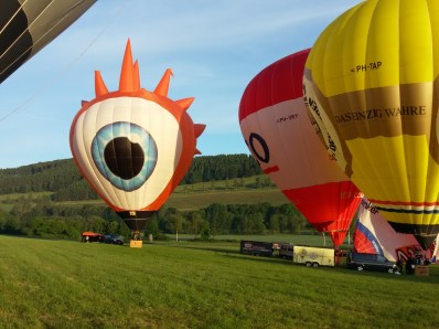 Ballonvaren in Winterberg