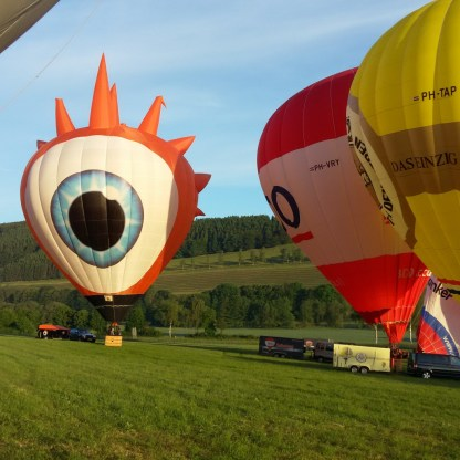 Ballonvaren in Winterberg