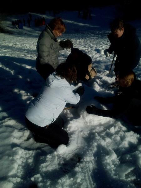 Actie in de sneeuw (88)