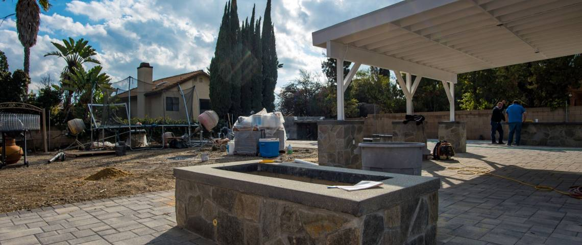 Backyard Remodeling-Fire pit-West Hills   Remodeling ... on Backyard Renovation Companies id=88334
