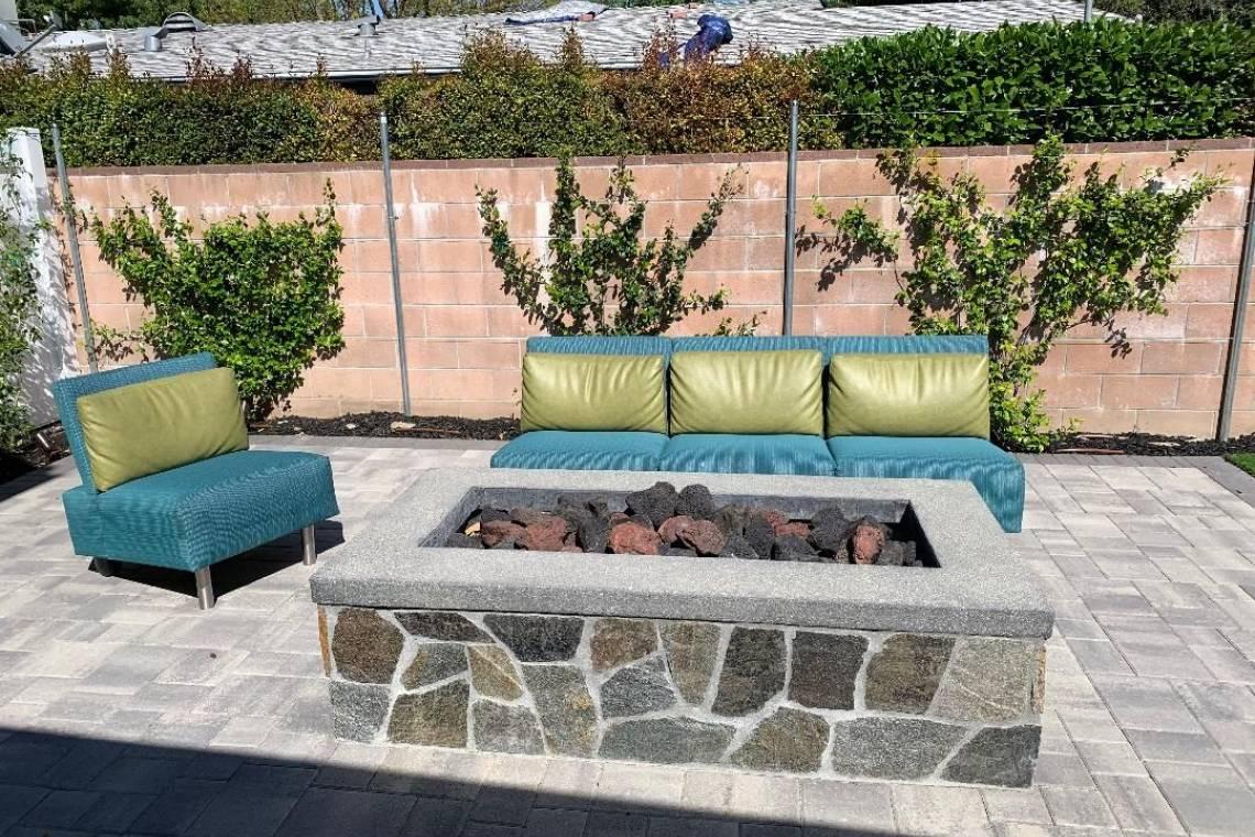 Backyard renovation-Fire pit-Thousand Oaks   Remodeling ... on Backyard Renovation Companies id=93966