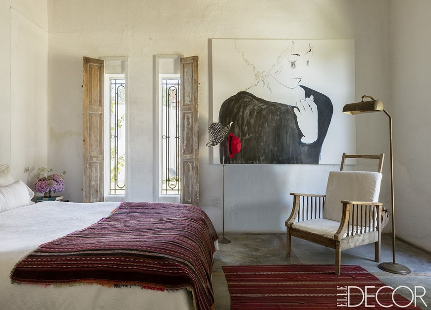 6 Bohemian Designs that Provide a Unique Bedroom Aesthetic ... on Room Decor Aesthetic id=43198