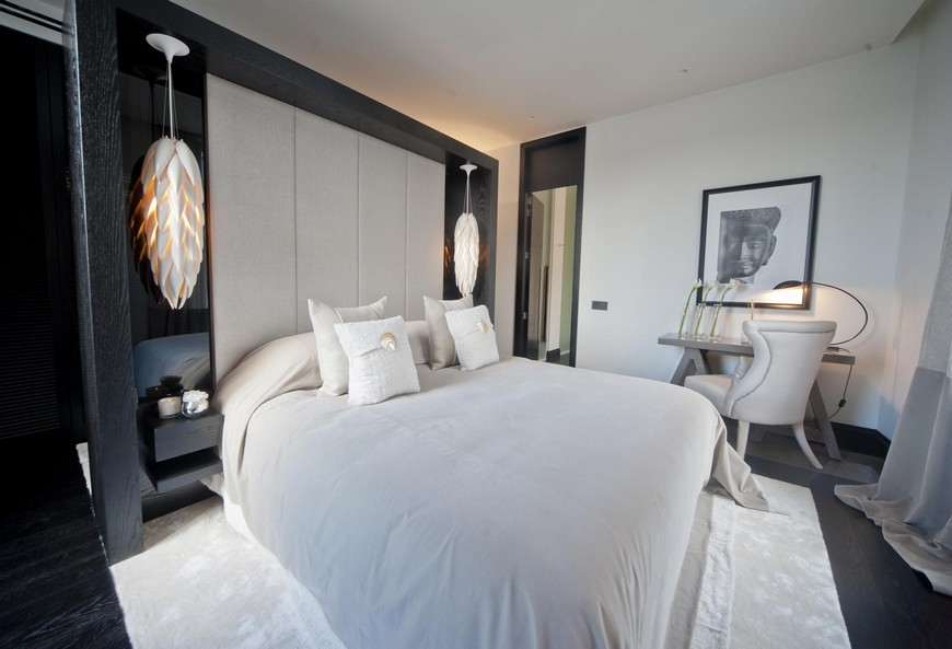 Kelly Hoppens Top Design Projects With Stylish Bedroom