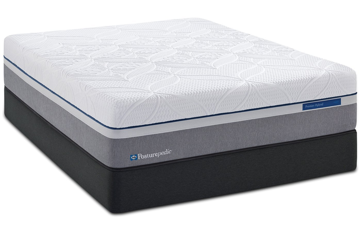 Queen Sealy Posturepedic Hybrid Gold Ultra Plush Mattress Set