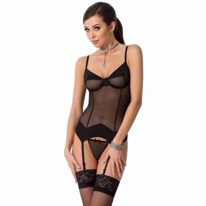 Passion Sandra Black Corset