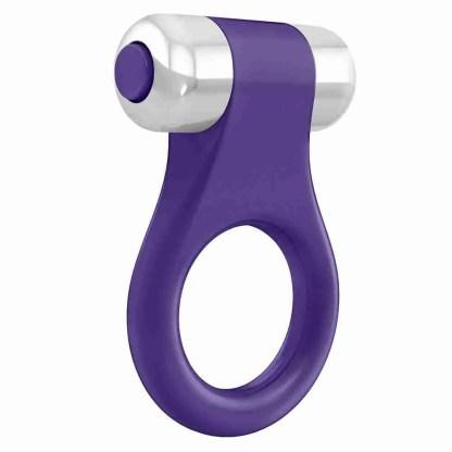 Ovo B1 Vibrating Ring Purple