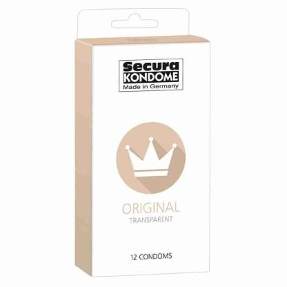 Secura Kondome Original Transparent x12 Condoms 1