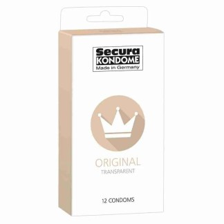 Secura Kondome Original Transparent x12 Condoms 1