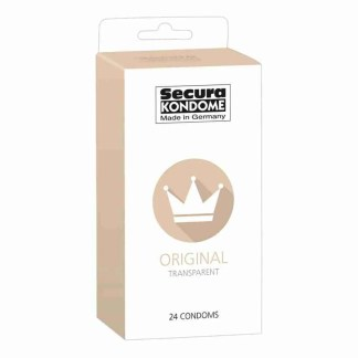 Secura Kondome Original Transparent x24 Condoms 1