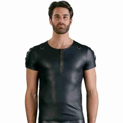 NEK Matt Black Straight Cut Shirt 2