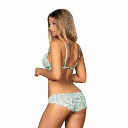 Delicanta Set Mint Bra And Panties 2