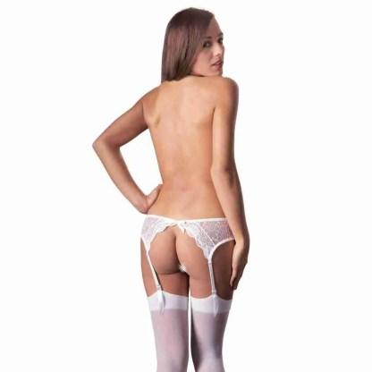 Suspender Set White 2