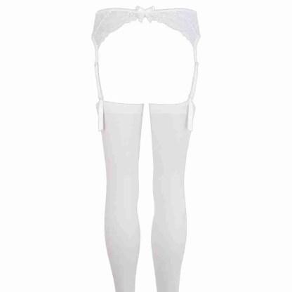 Suspender Set White 4
