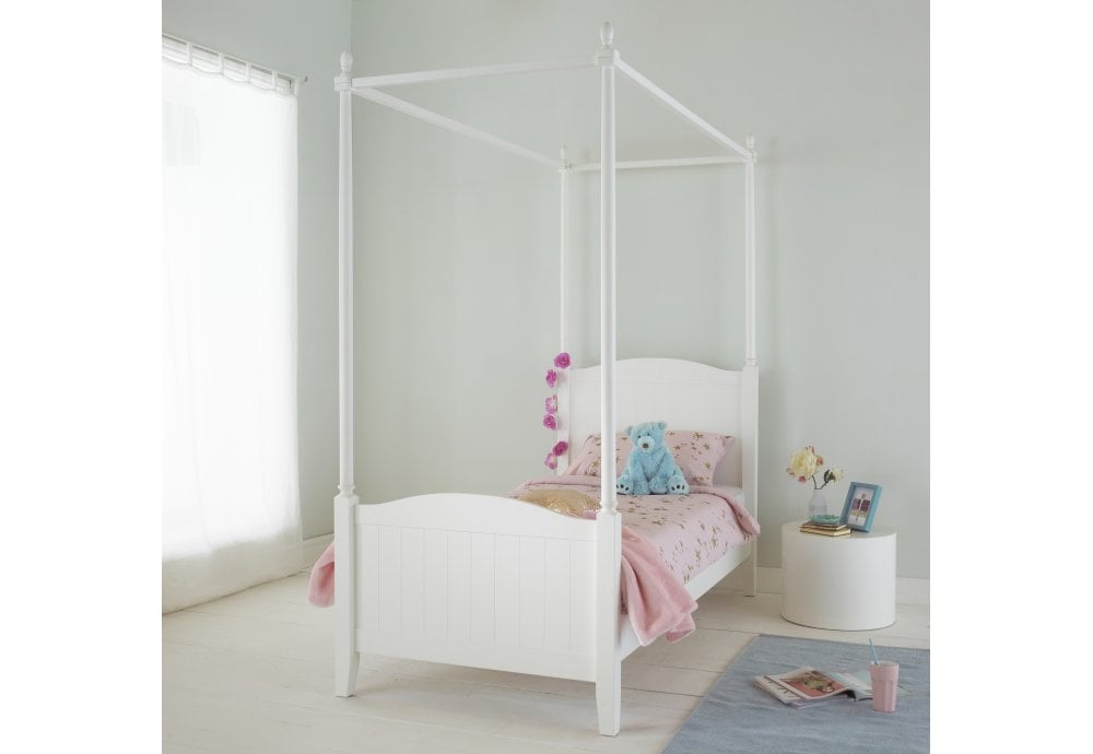 Hyder Florence 3ft Single Four Poster Bed Beds From Beds 4 Less Uk