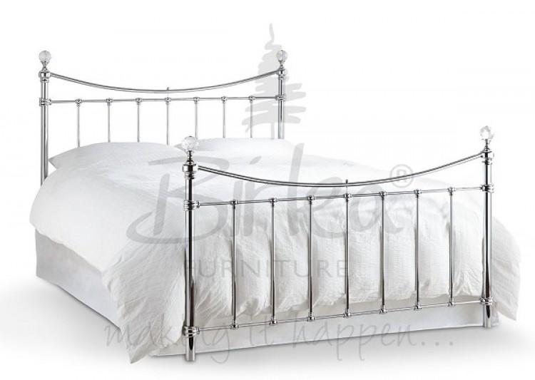 Birlea Alexa 5ft King Size Chrome Metal Bed Frame With
