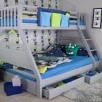 Flair Ollie Triple Sleeper Bunk Bed Grey