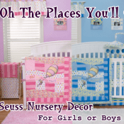 Oh The Places You'll Go Dr Suess Nursery Decor