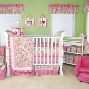Girls Crib Bedding Sets Trend Lab Paisley Park