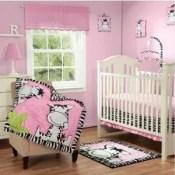 I luv zebra crib bedding