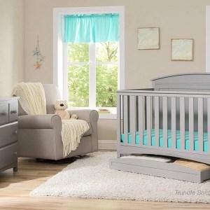 Delta Archer 4 in 1 Crib Gray
