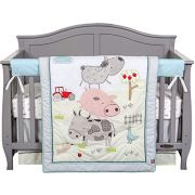 Farm Animal Nursery Decor - Barnyard Baby Bedding