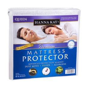 Hanna Kay Premium 100% Waterproof Mattress Protector