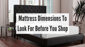 Mattress Dimensions To Look For Before You Shop