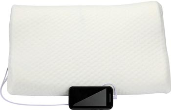 1Voice Memory Foam Music Pillow with Built-in Speakers