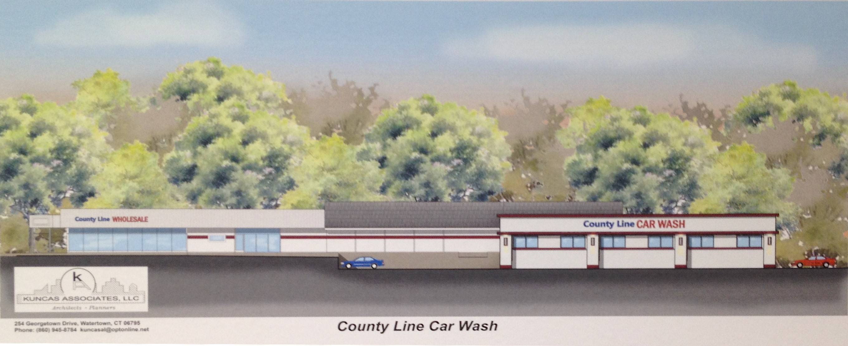 This Artistu0027s Rendering Shows The Car Wash Proposed For 2160 Straits  Turnpike In Middlebury.