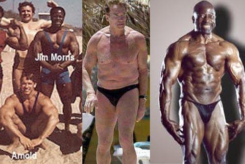 Arnold Schwarzenegger vs Jim Morris